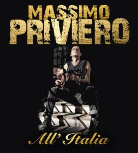 All'Italia, il ritorno musicale di Massimo Priviero (PRIVIERO DISCO 271x300)