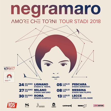 """Negramaro: manca poco all'uscita del nuovo album """"Amore che torni"""""""