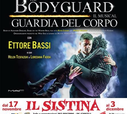The Bodyguard al Teatro Sistina di Roma