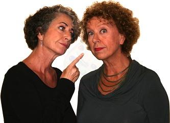 """Intervista a Paola Tiziana Cruciani e Alessandra Costanzo, le protagoniste di """"Sugo finto"""""""