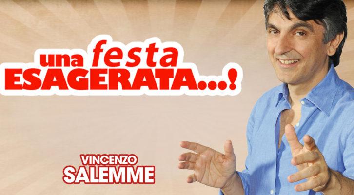 """Vincenzo Salemme diverte il pubblico del Teatro Diana con """"Una festa esagerata"""""""