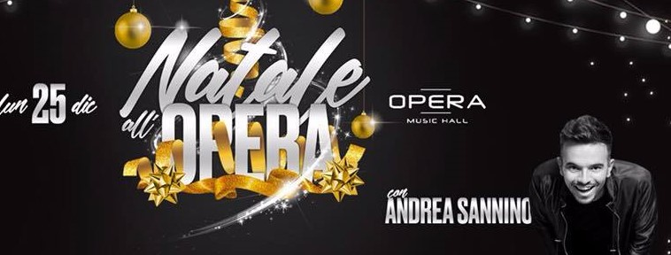 Andrea Sannino live all'Opera Music Hall