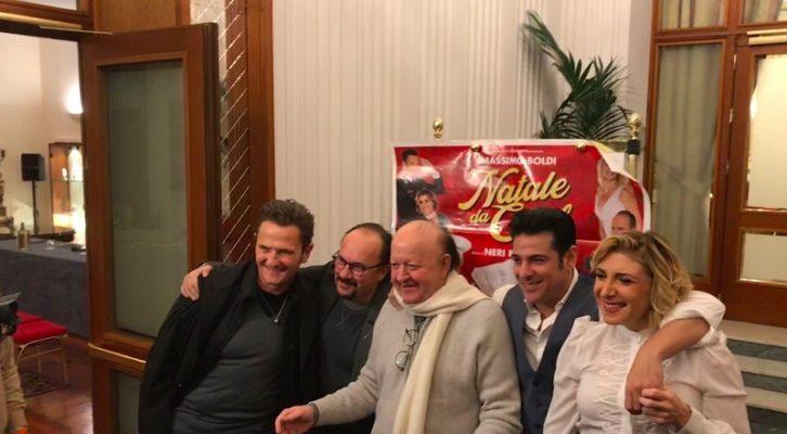 Massimo Boldi: «Natale da Chef è il cinepanettone quello vero, che vi farà morire dal ridere»