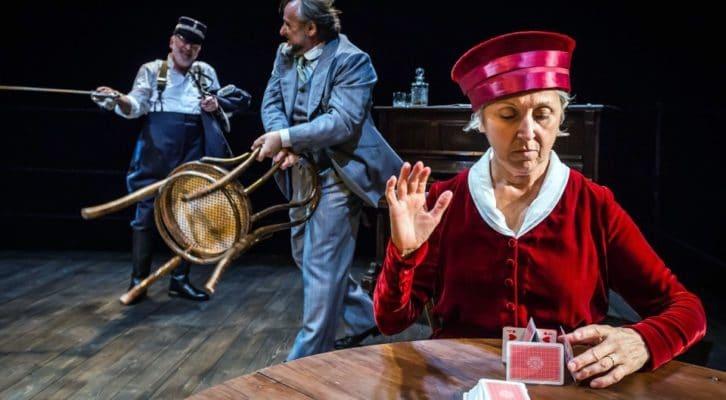 Al Bellini in scena Play Strindberg, con Paiato, Castellano e Donadoni
