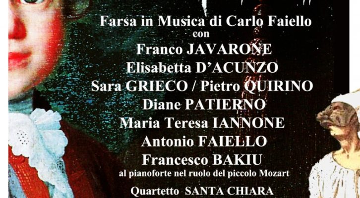 Mozart alla Corte di Pulcinella, la farsa in musica di Carlo Faiello