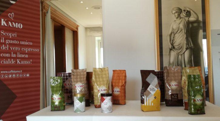 Presentata la nuova linea di prodotti Caffè Kamo