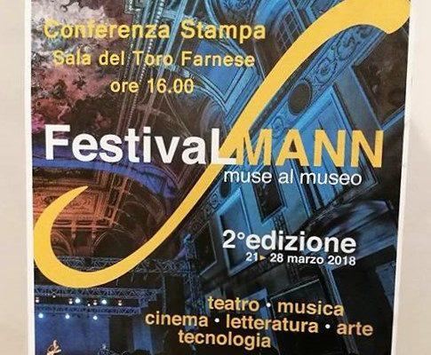 Al via la seconda edizione di Festival Mann/ Muse al Museo