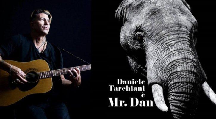 """Daniele Tarchiani presenta """"Mr Dan"""",  il primo album da solista"""