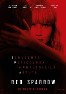 Presentato a Roma Red Sparrow di Francis Lawrence (red sparrow 210x300)