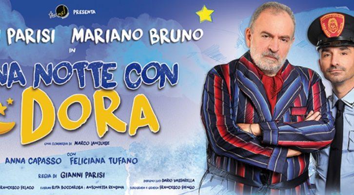 """Intervista a Gianni Parisi, prossimamente al Teatro Cilea con """"Una notte con Dora"""""""