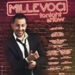 """""""Millevoci tonight show"""" di e con Francesco Cicchella al teatro Diana"""