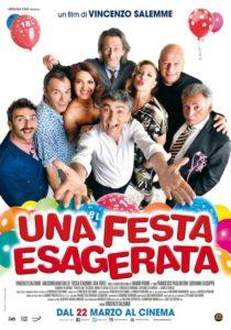 """Arriva nelle sale """"Una festa esagerata"""" il nuovo film di Vincenzo Salemme (una festa esagerata poster 210x300)"""