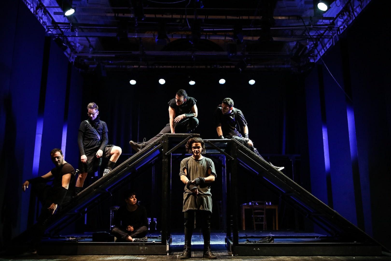 """""""La paranza dei bambini"""" al teatroTrianon Viviani di Napoli"""