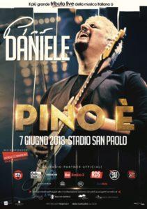 """""""Pino È"""" il più grande tributo live della musica italiana a Pino Daniele (Locandina PINO È bassa 1 211x300)"""