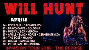 Il batterista Will Hunt torna in Italia (Will Hunt Tour 300x169)