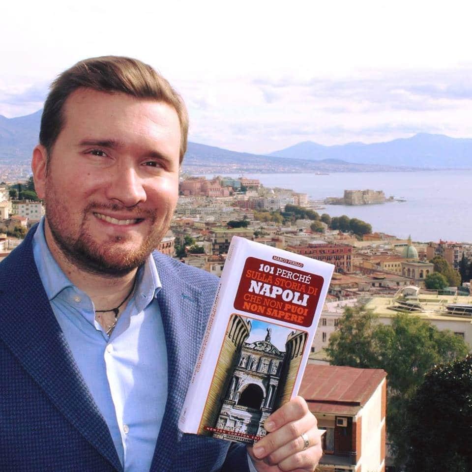 """Marco Perillo alla rassegna """"Incontro con L'autore"""" di Libri Market"""