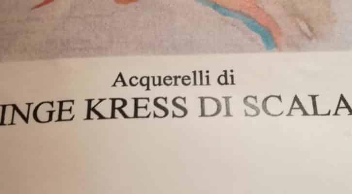 All'Hotel Manzi di Ischia in mostra gli acquerelli di Inge Kress Di Scala