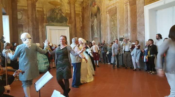 A corte dai Borbone, lo spettacolo messo in scena a Villa Campolieto