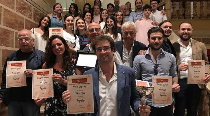 Il Teatro Club Gino Roma vince la Rassegna di Teatro Amatoriale dell'Augusteo