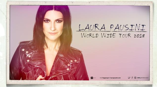 Nuove date per il Fatti Sentire Worldwide Tour di Laura Pausini