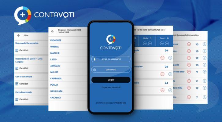 """Nasce """"Contavoti"""" l'app che visualizza e gestisce i risultati elettorali in tempo reale"""