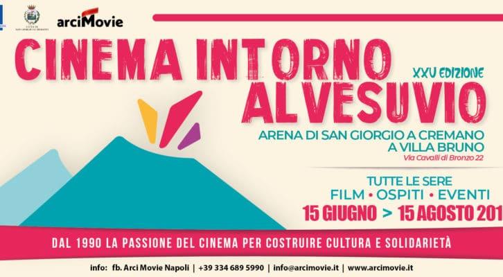 """Al via la XXV edizione di """"Cinema intorno al Vesuvio"""" a Villa Bruno"""