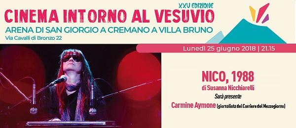 """""""Cinema intorno al Vesuvio"""": arriva """"Nico, 1988"""" di Susanna Nicchiarelli"""