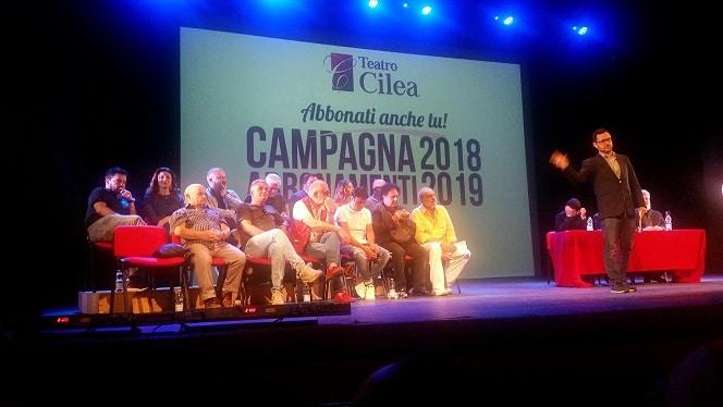 Gli spettacoli in cartellone della stagione 2018/2019 del Teatro Cilea