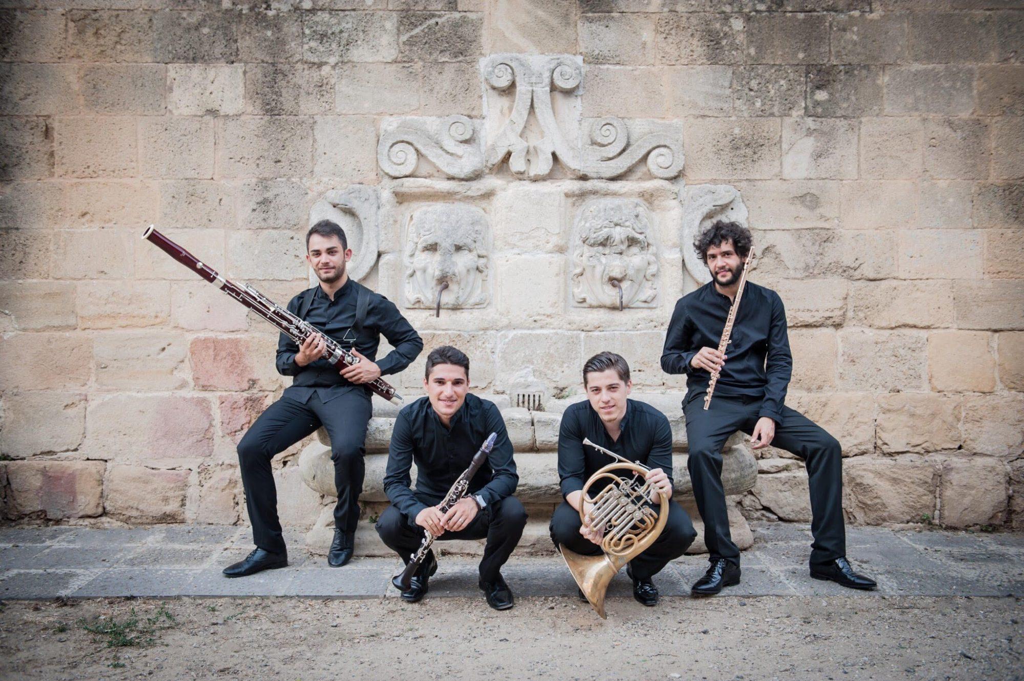 L'ensemble di fiati 'Falstaff' a San Marcellino e Festo