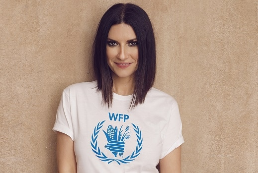 Laura Pausini sarà nominata Goodwill Ambassador del World Food Programme