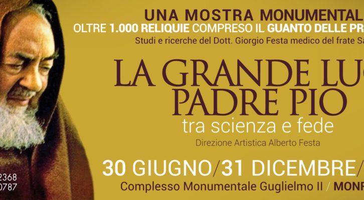 A Monreale in Sicilia, la mostra di Padre Pio fino al 31 dicembre