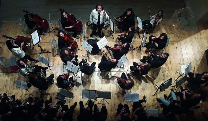 L'Orchestra sinfonica Sanitansamble al Festival delle Ville Vesuviane