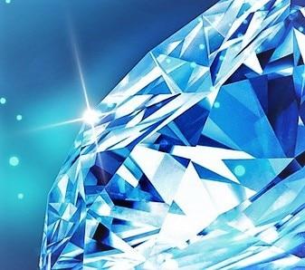 Come nasce un Diamante blu