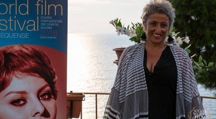 Lucianna De Falco, l'attrice si racconta al Social World Film Festival