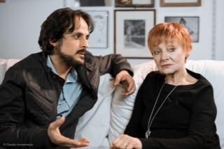 Milena Vukotic con Maximilian Nisi a Casamarciano