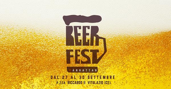 Risultati immagini per Al via la quinta edizione del Beer Fest al Manhattan di Vitulazio (CE) dal 27 al 30 settembre.