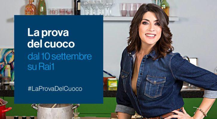 """Nuova veste per """"La prova del cuoco"""" con la conduzione di Elisa Isoardi"""