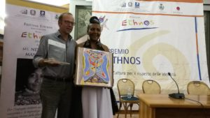 Ndileka Mandela premio Ethnos 2018