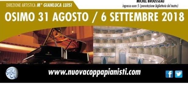 "Osimo Piano Hours Festival al Teatro  ""La nuova Fenice"" di Osimo"