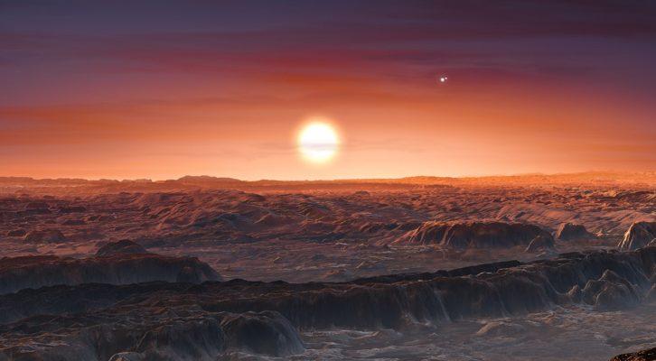 Nuovo studio Nasa ipotizza la presenza di acqua e nell'atmosfera di Proxima Centauri B