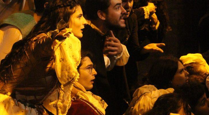 Riapre il Tin a Napoli con una performance dell'Accademia Vesuviana