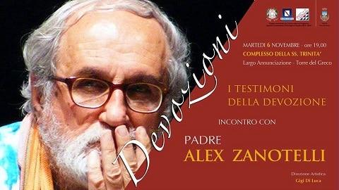 Continuano gli appuntamenti del progetto Devozioni: incontro con Padre Alex Zanotelli
