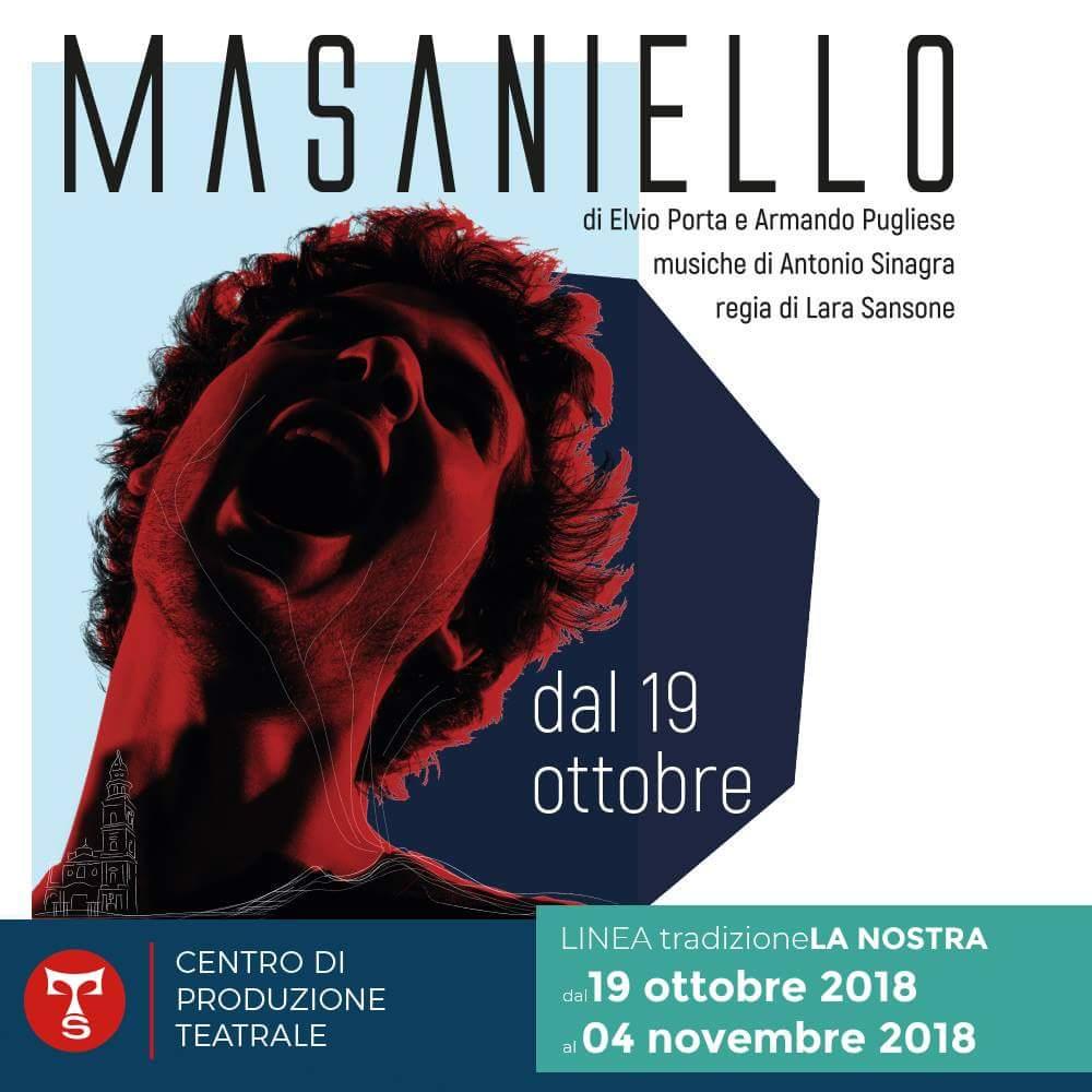 """""""Masaniello"""" apre la stagione del Teatro Sannazaro"""