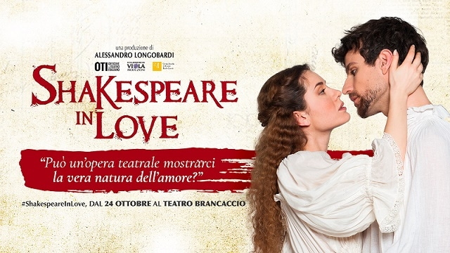 Al Teatro Brancaccio di Roma va in scena Shakespeare in love