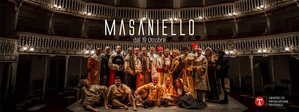 Masaniello dà voce  a Napoli tra prosa e canto popolare al Teatro Sannazaro