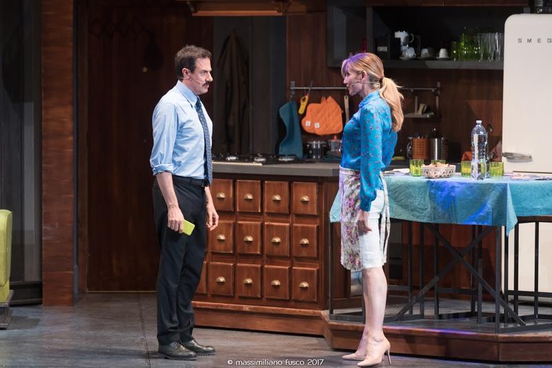 """Al Teatro Olimpico """"Non mi hai più detto ti amo"""" con Lorella Cuccarini e Giampiero Ingrassia"""