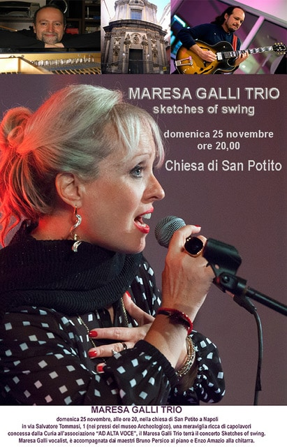 Maresa Galli Trio in  Sketches of Swing