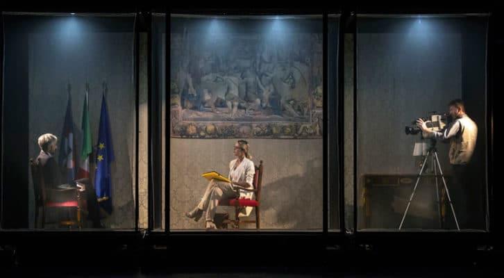 """""""Squalificati"""" diretto da Melchionna con la Rocca al teatro Sannazaro"""