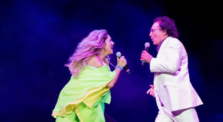 Al Bano e Romina Power in concerto al Palasport di Bolzano