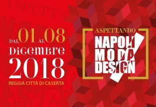 """Alla Reggia di Caserta la mostra """"AspettandoNapoliModaDesign"""""""